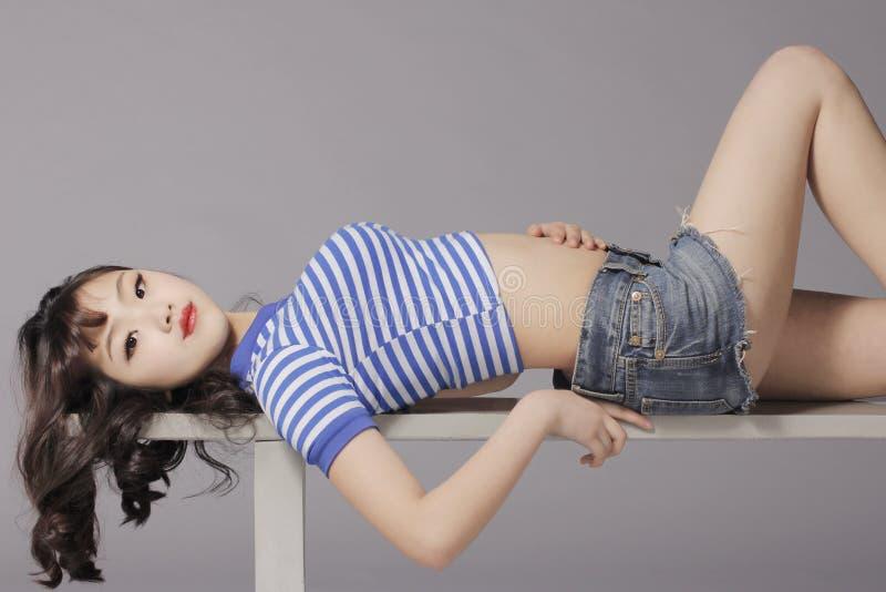 Сексуальная девушка 7 стоковое изображение
