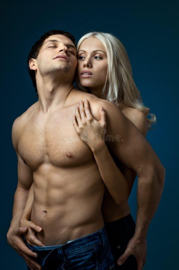 Сексуальные пары стоковые изображения rf