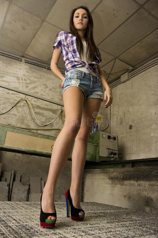 Сексуальный работник стоковое фото rf