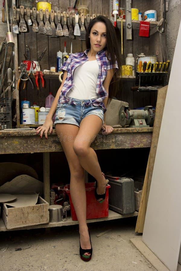 Сексуальный работник стоковые фото