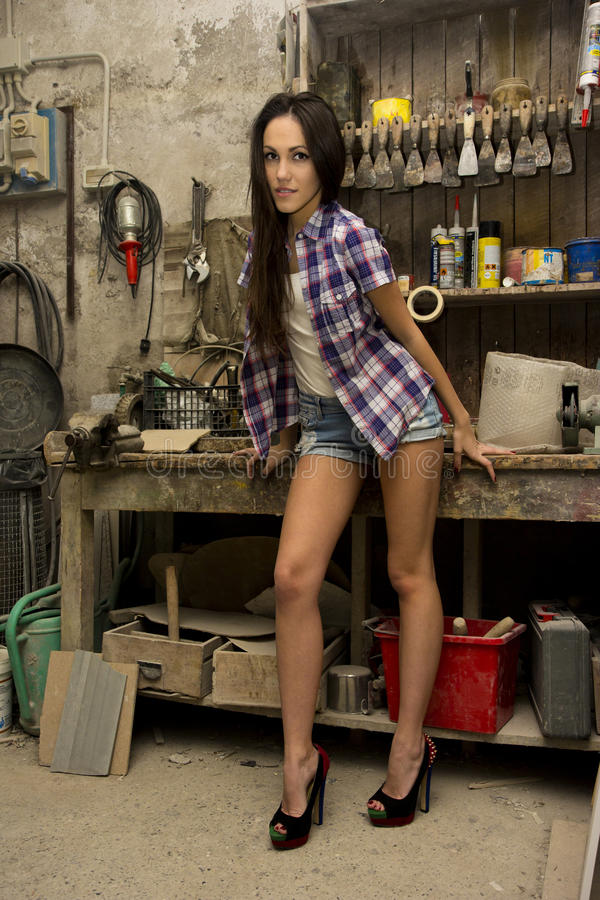 Сексуальный работник стоковые фотографии rf