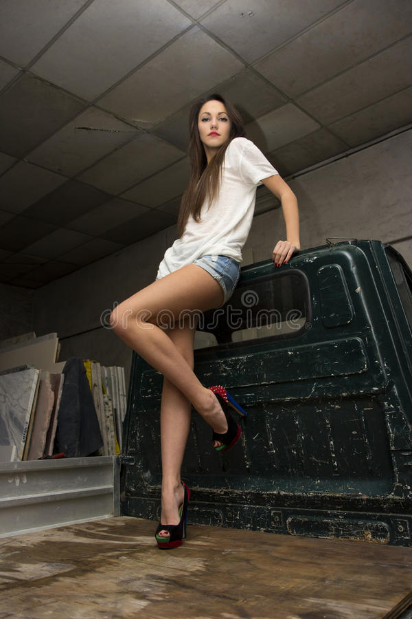 Сексуальный работник стоковая фотография rf