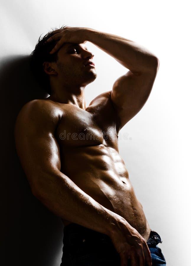 Сексуальный человек стоковое фото