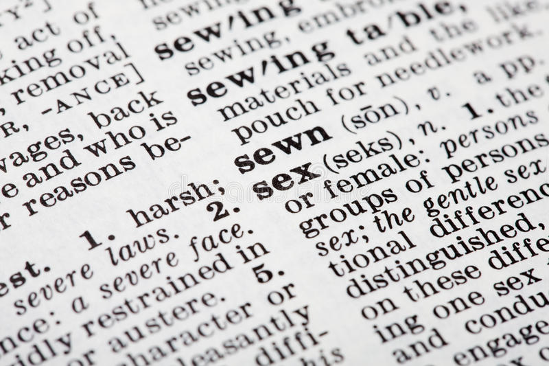 Определение секса