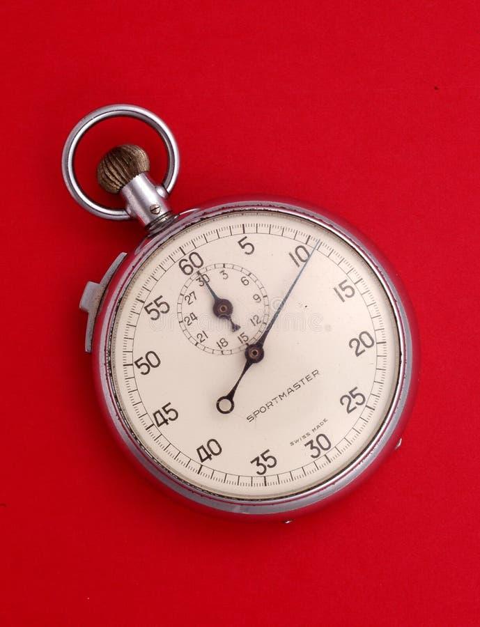 секундомер стоковое изображение
