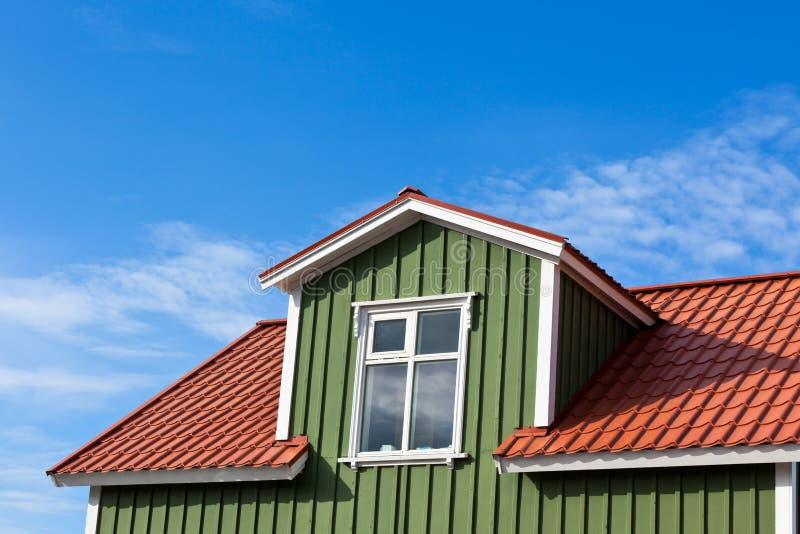 Селитебная верхняя часть крыши стоковое изображение