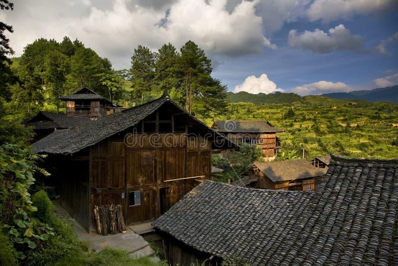село гор стоковое фото rf