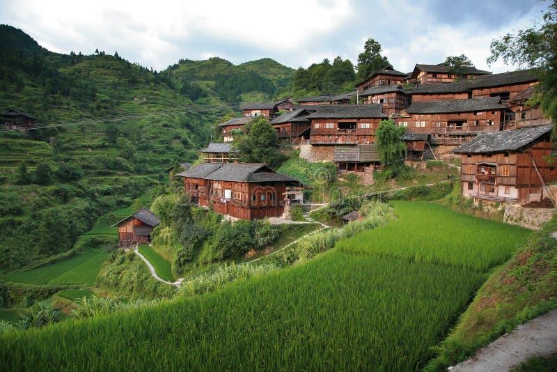 село гор стоковые изображения rf
