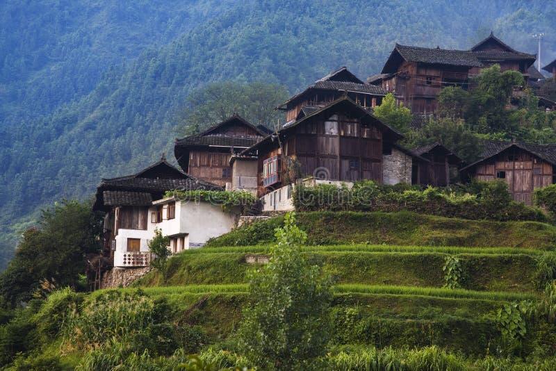 село гор стоковые фотографии rf