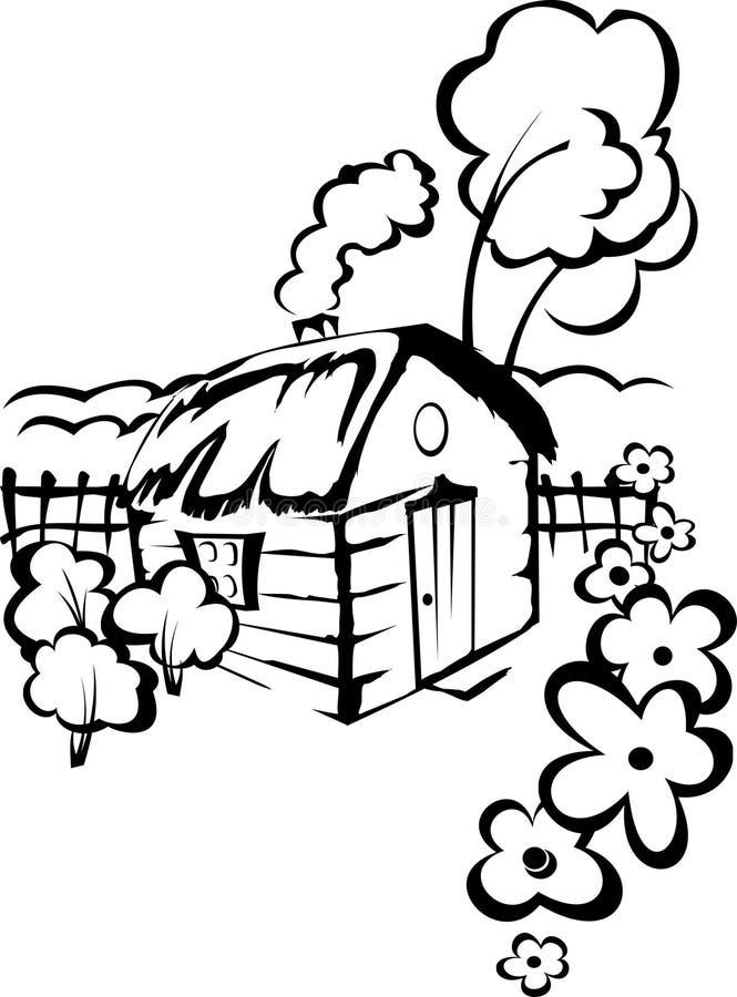 село дома бесплатная иллюстрация