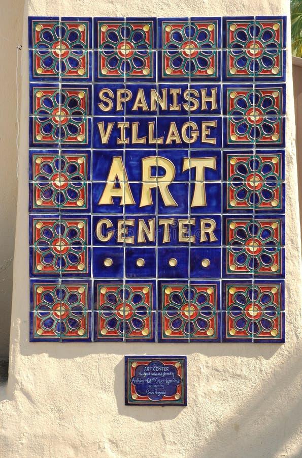 село испанского языка парка центра бальбоа искусства стоковые фото