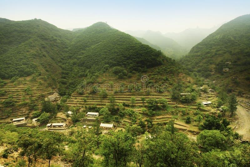 село Пекин стоковая фотография rf