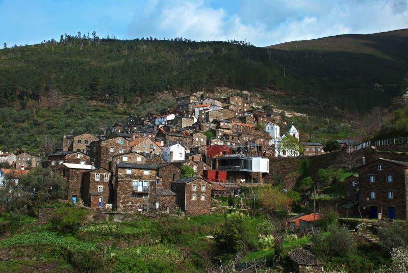 село Португалии moutain старое стоковое фото rf