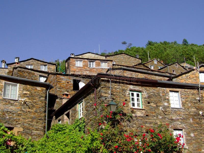 село Португалии piodao стоковые изображения