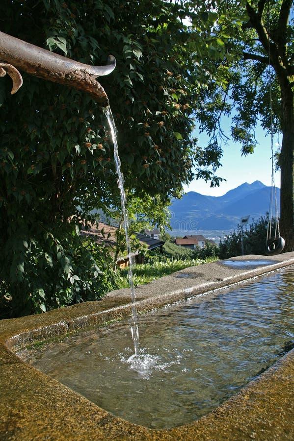 село фонтана стоковые фото