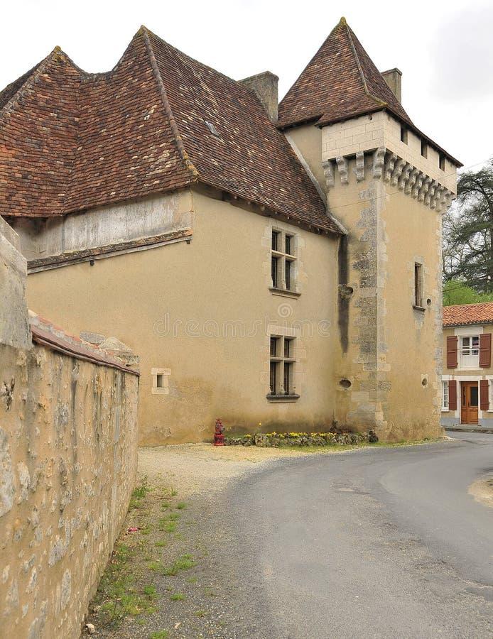 село франчуза замока стоковое изображение
