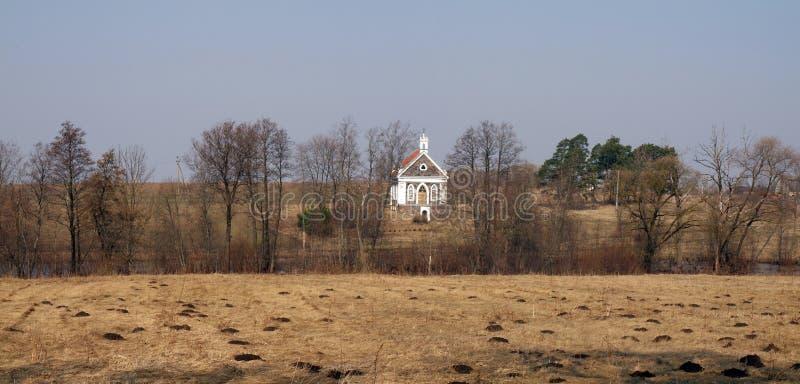село церков стоковое изображение rf
