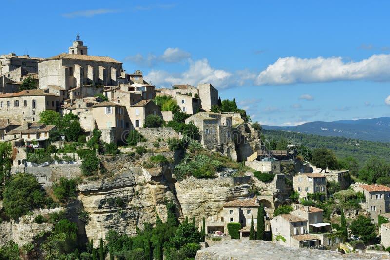 Село Gordes Франция стоковые фотографии rf