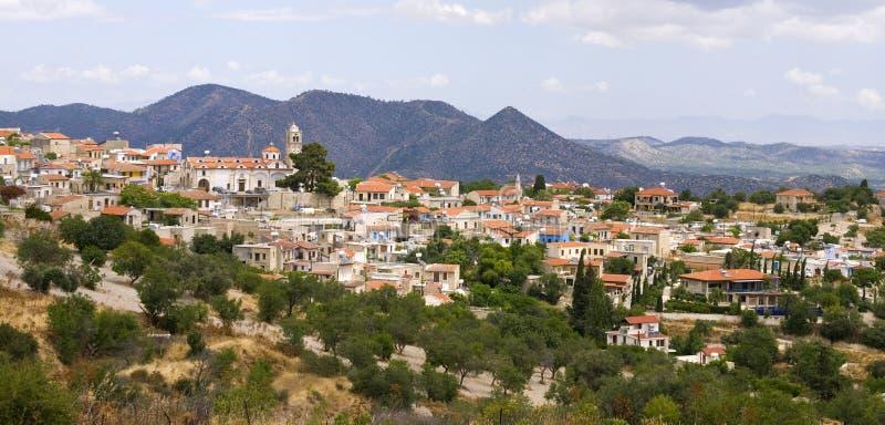 село lefkara Кипра стоковые фото