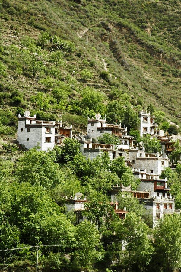 село mountin стоковая фотография