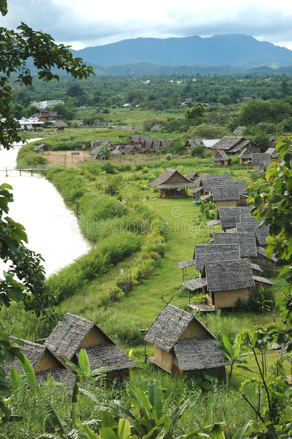 Село Pai стоковое фото rf