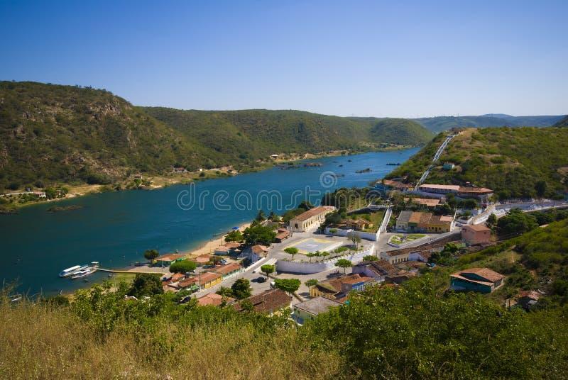 село piranhas стоковое фото rf