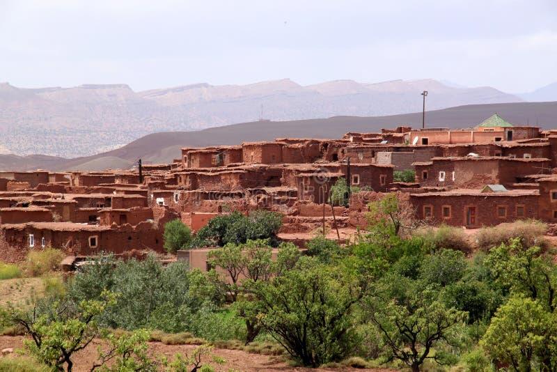 село telouet стоковое фото