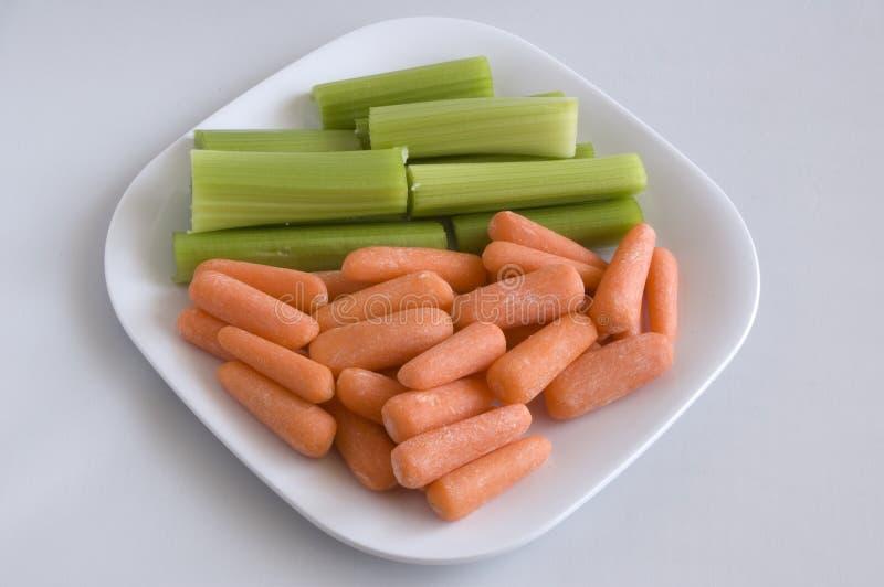 сельдерей морковей младенца стоковые изображения rf