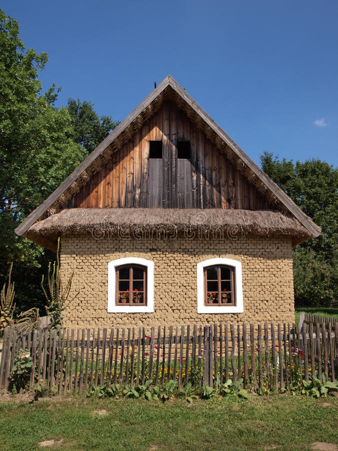 Сельская дом стоковые фотографии rf