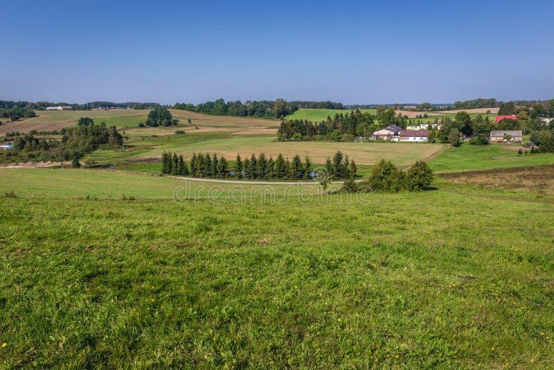 Сельская местность в Польше стоковые изображения