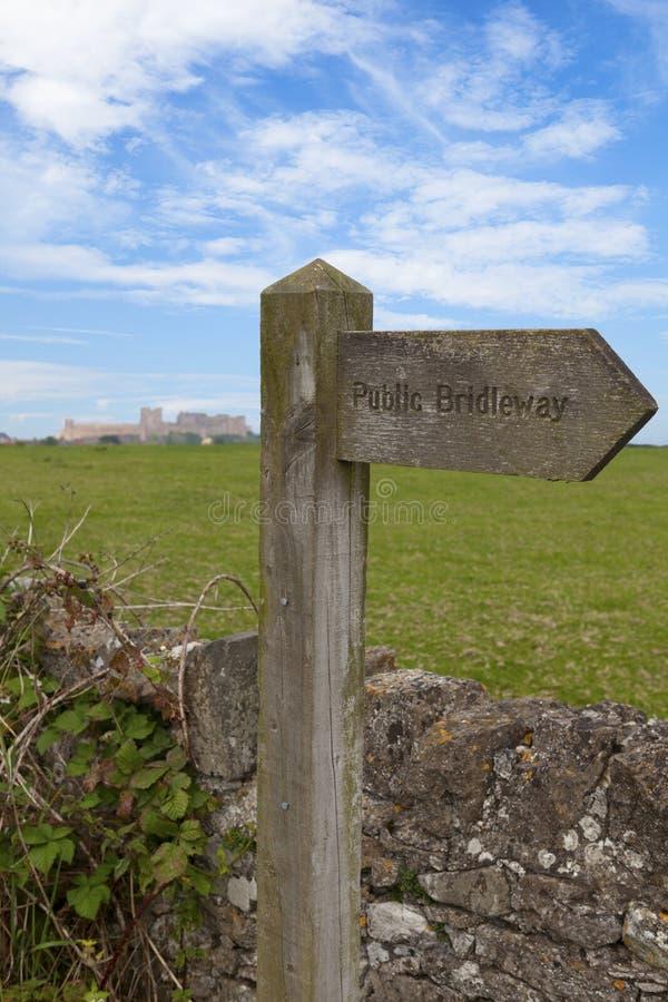 Сельская местность Northumberland стоковые фотографии rf