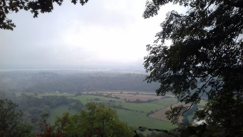 Сельская местность Welsh стоковое фото