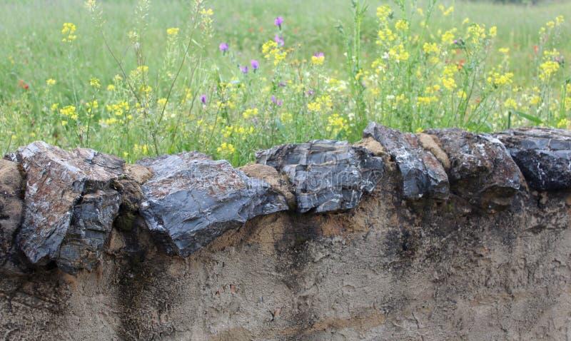 Сельская стена стоковое фото rf