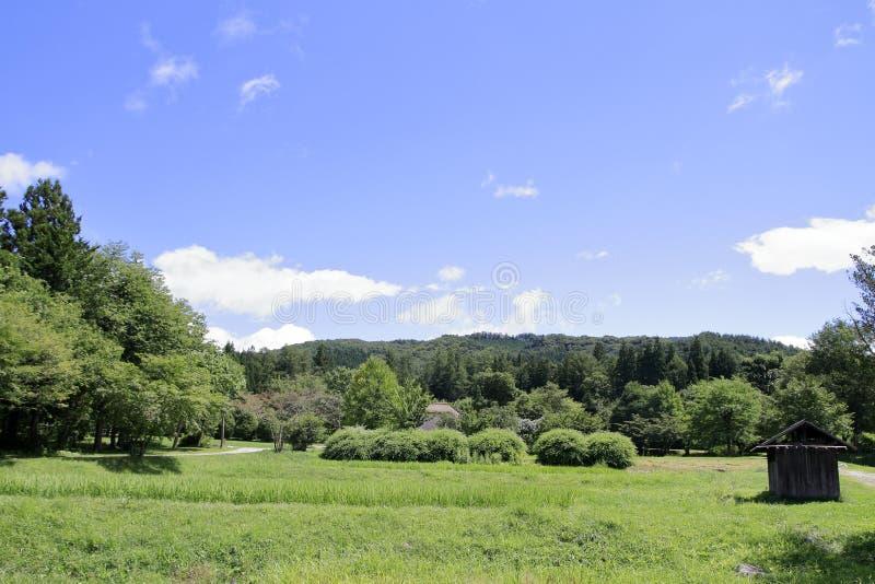 Сельская сцена в Tono стоковое изображение rf