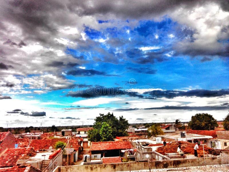 сельский городок стоковое фото rf