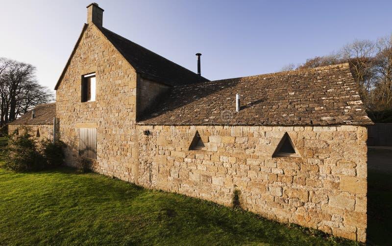сельский дом cotswold стоковое изображение rf