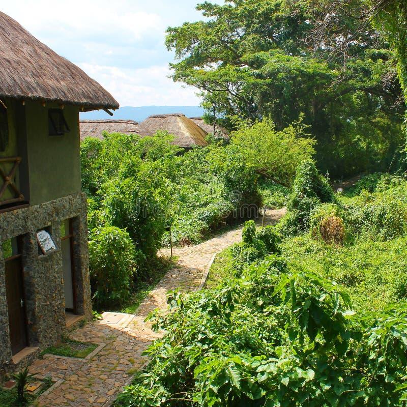 Сельский курорт Кисуму стоковое фото