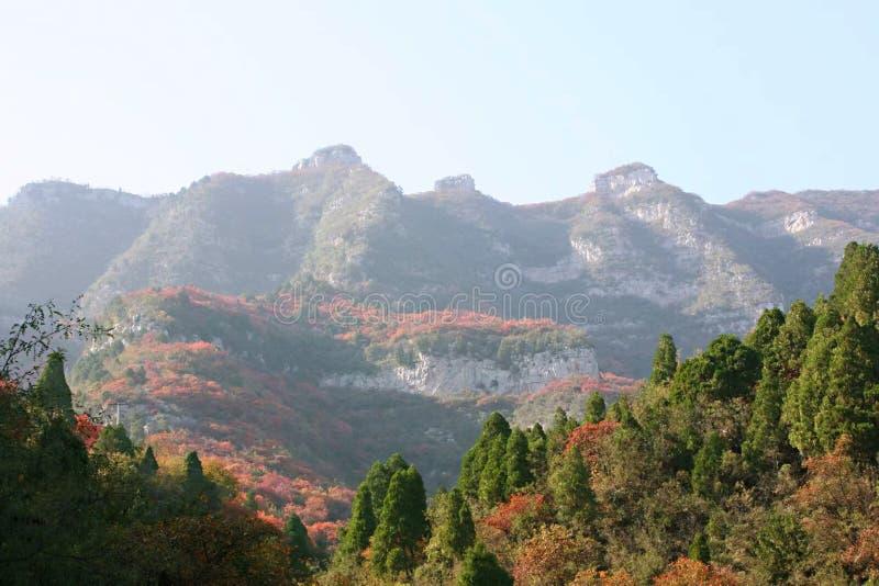 Сельский ландшафт Цинтянхе, Китай стоковое изображение rf