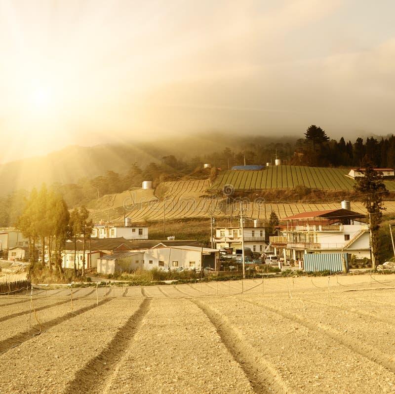 сельский пейзаж стоковая фотография