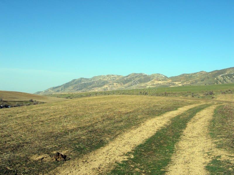 сельский путь стоковое изображение rf