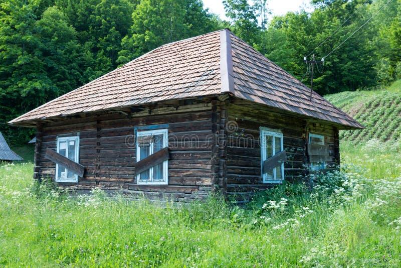 сельское дома старое стоковые изображения rf