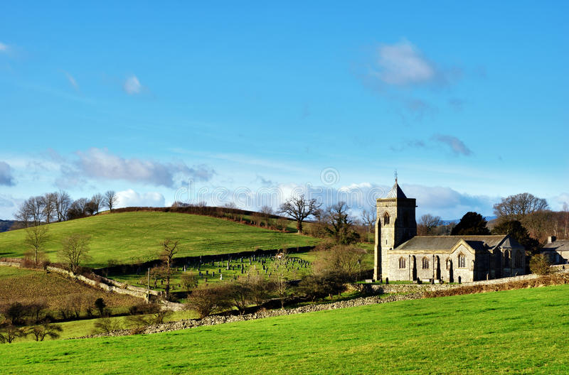 сельское церков английское привлекательно старомодный стоковые изображения rf