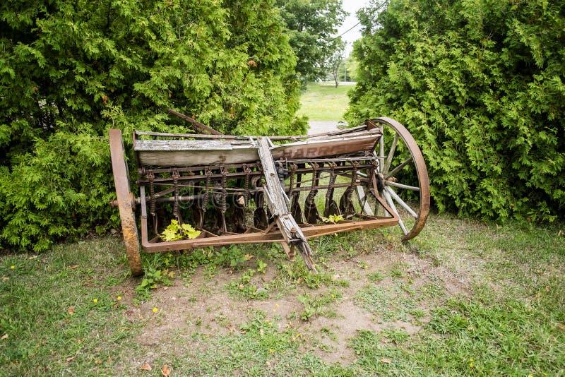 Сельскохозяйственное оборудование года сбора винограда Херриса стоковое фото rf