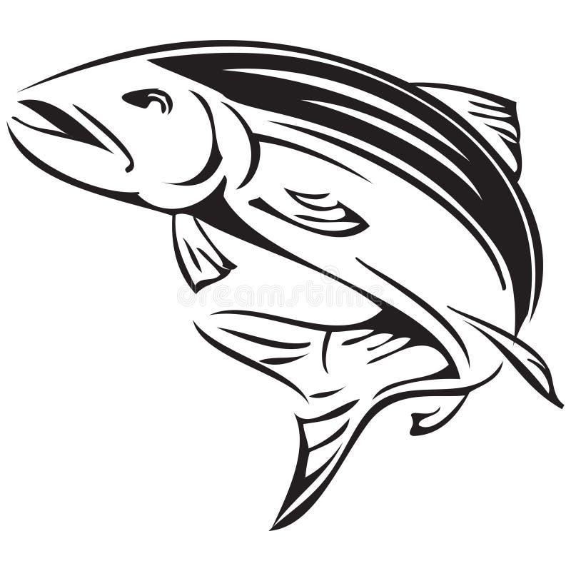 Семги символа иллюстрация штока