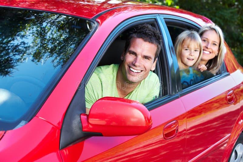 Семейный автомобиль. стоковые фото