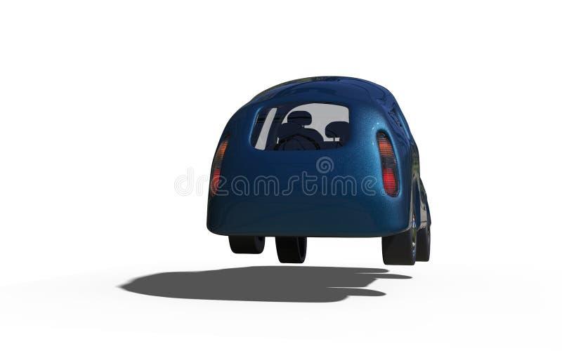 Семейный автомобиль стоковое фото rf