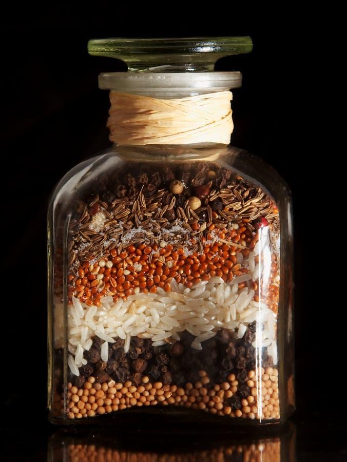 семена опарника еды стоковое фото