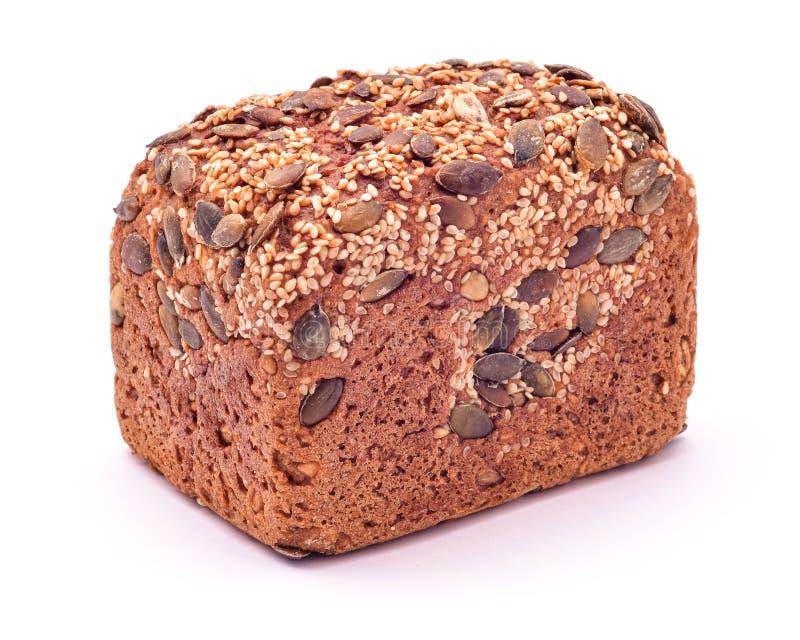 Семена: хлеб изолирован стоковая фотография rf