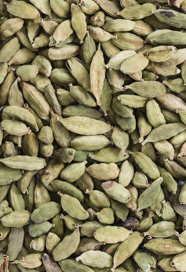 Семена Cardamon (фоновое изображение) стоковая фотография