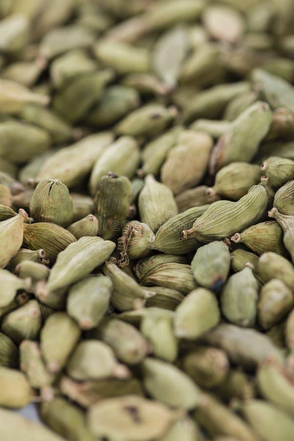 Семена Cardamon (фоновое изображение) стоковое изображение rf